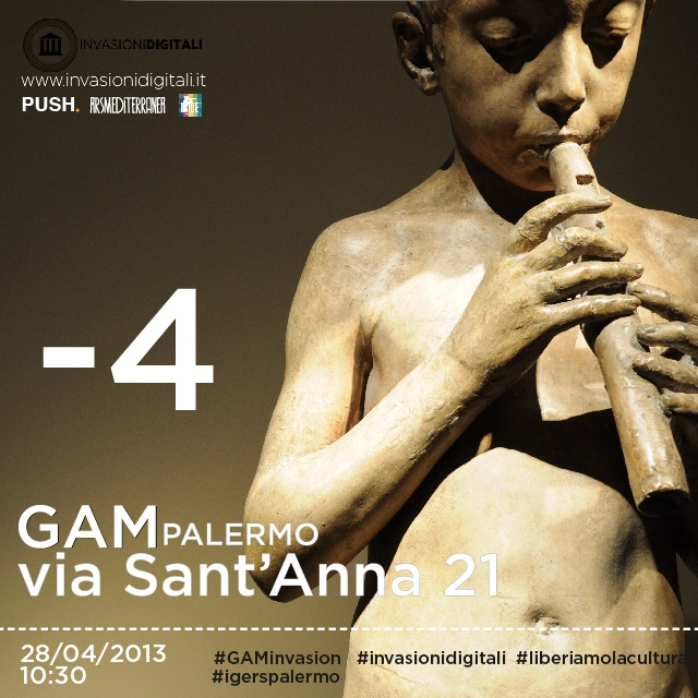 -4 alla #GAMinvasion! #Palermo #invasionidigitali #liberiamolacultura