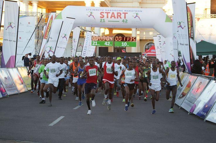 Steinmetz Gaborone Marathon 2013