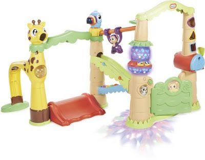 Speelgoed Reviews: Little Tikes activity garden treehouse