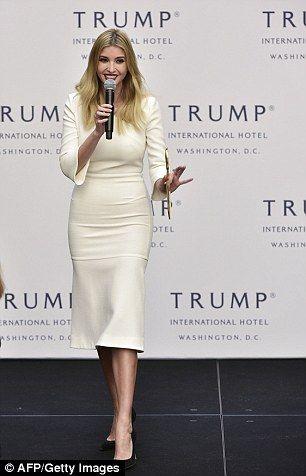 Future first lady: Ivanka quits her jobs to take role in White House. Ivanka  TrumpHigh HeelCasual WearHeelsIvanca ...