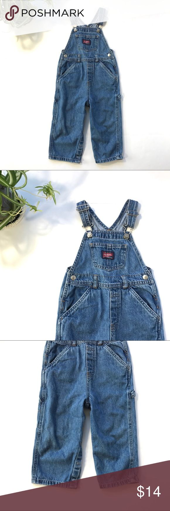 Old Navy Denim blue jean toddler overalls pant 2T This is a pair of Old Navy toddler overalls in classic blue denim. They are size 2T.  These overalls are in pre-owned condition with light wear. Please take a look through the photos to see if this item is right for you! Old Navy Bottoms Overalls