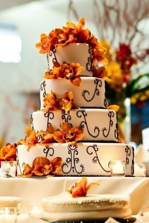 #Autumn #wedding #cake ideas