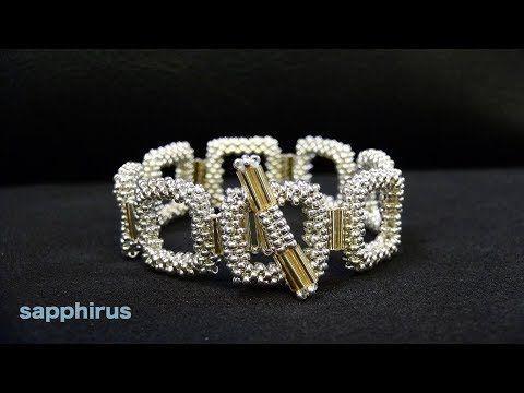 【Perlenstickerei】 Armband aus extra kleinen Perlen und Bambusperlen ☆ Wie mache ich … |  #FrisurenApp #Frisurenauf #FrisurenBrötchen #Frisure…