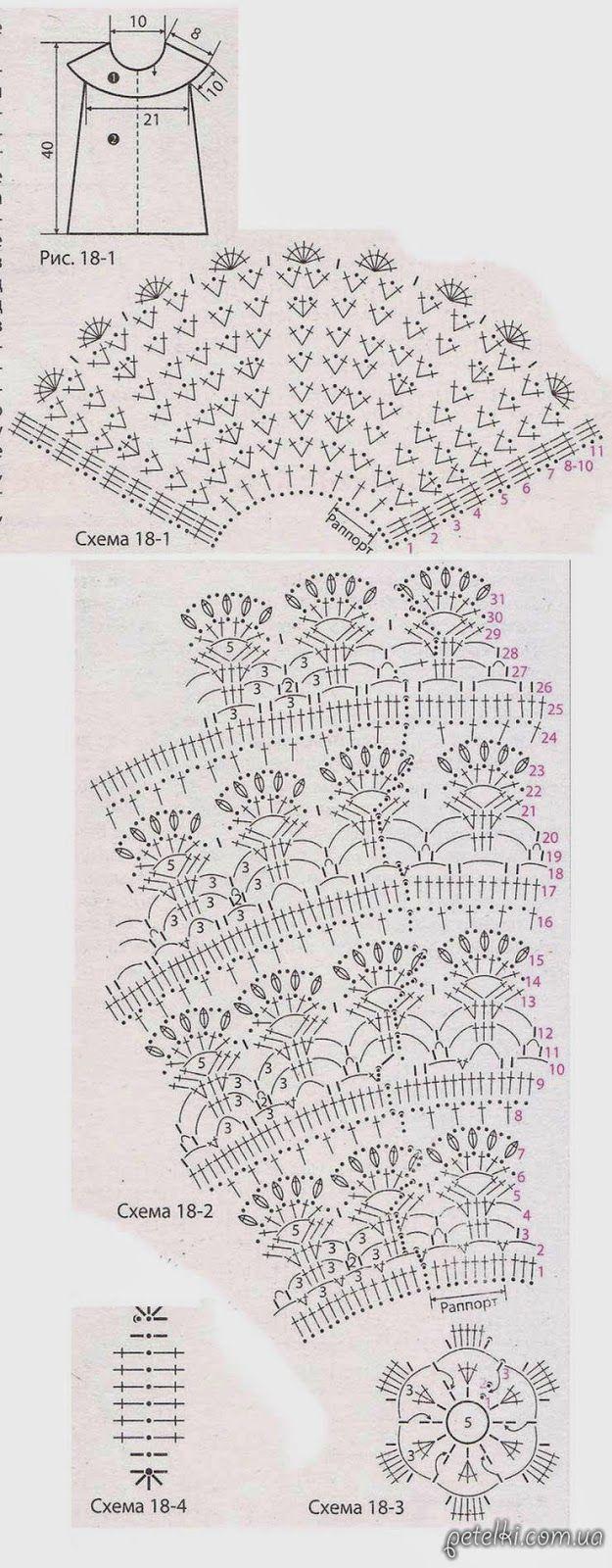 DE MIS MANOS TEJIDOS Y MAS...: Blusas y pullovers a crochet