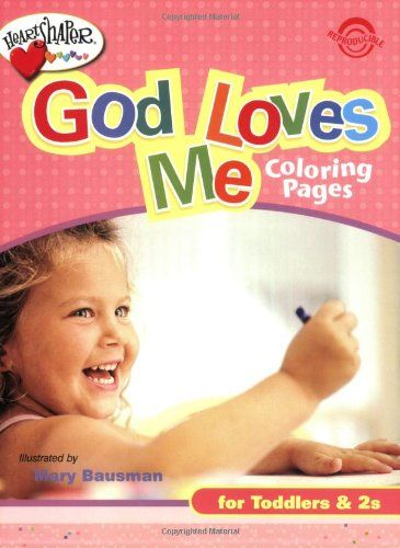 God Loves Me Coloring Page