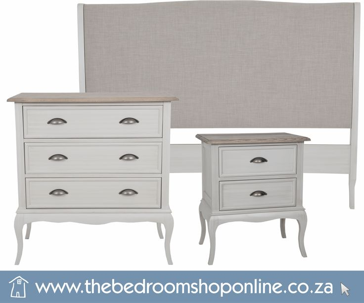Fashion a luxurious boudoir; encompassing style and comfort - Adorn you room with our Classic French inspired Anna Furniture Range; charmingly fashioned with carved cabriolet legs in beautifully distressed finishes and aged wood stains. Opt for the Island Grey finish for a modern twist on a classic French Provincial style ‪#‎ShopHere‬: http://bit.ly/1PvsKHt