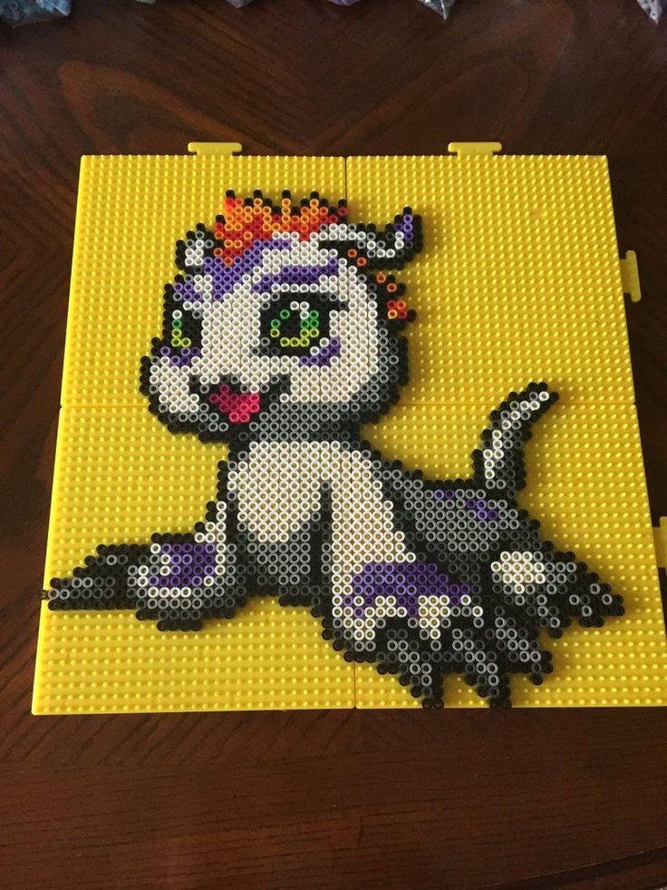 Gomamon - Digimon Perler Bead Sprite by jnjfranklin