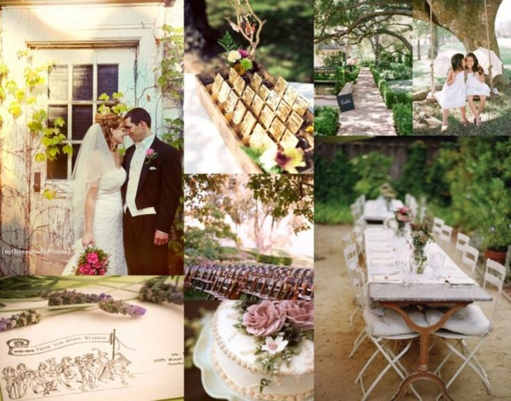 déco mariage champêtre - gâteau mariage décoré de fleurs, étiquettes américaines et déco de table
