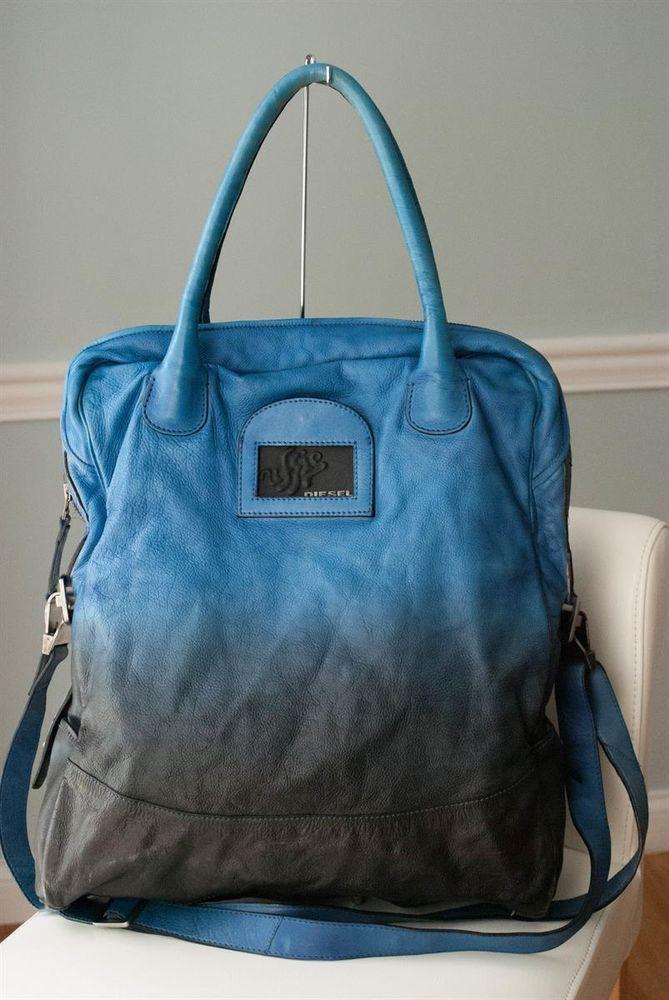 Model Diesel Leather Bag  X03041P0512 Easy Gleaming Dafne  Shopping Bag In