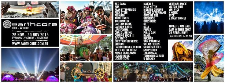 earthcore 26-30 Nov, 2015 (Other Worlds) - earthcore. In country Victoria.