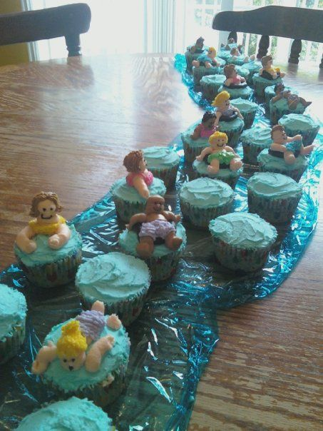 Lazy River Cupcakes For Our Daughters Quot Water Themed