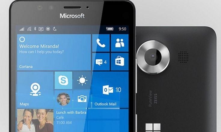 Lumia 950 irá chegar aos EUA no dia 20 de Novembro