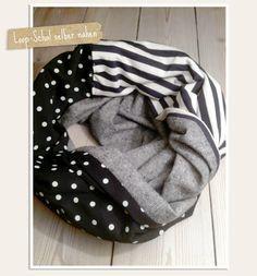 Loop-Schal mit Anleitung und Schnitt