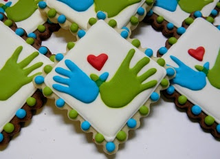 Williams Syndrome Awareness Cookies by Sweet Melissa's Cookies