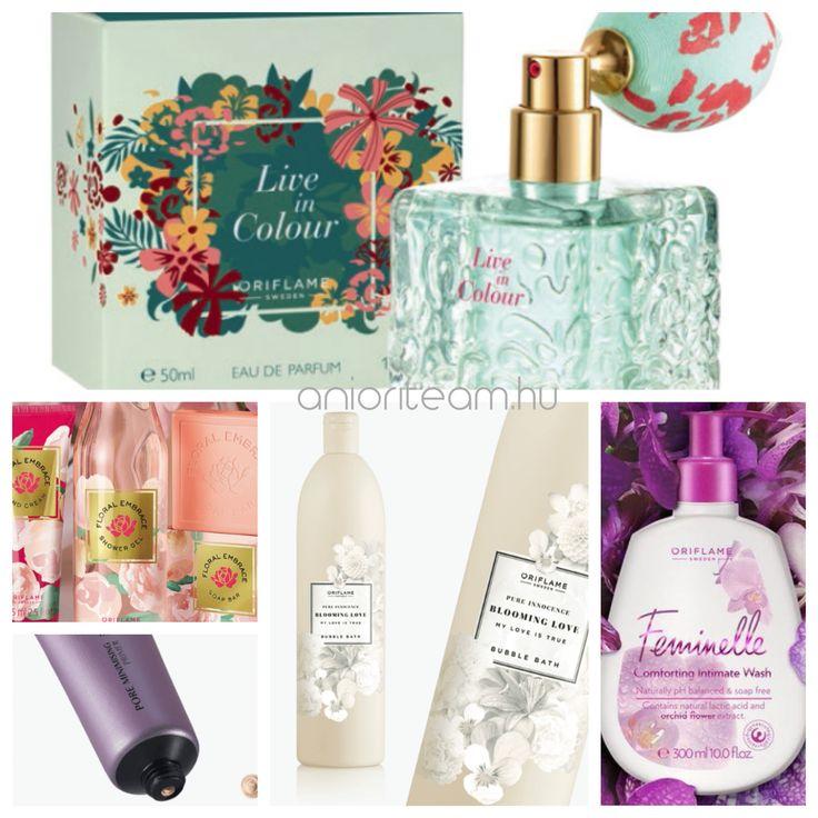 Az új termékek az 2018/3-as katalógus időszakban, már a Nőnapra is készültek. Ez a katalógus még több újdonságot tartalmaz, mint az előzőek, előhívja a tavaszi zsongást és színeket trendi divatkiegészítőivel és a megjelent új parfüm és testápolókkal.