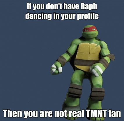 True TMNT Fan FOREVER!!! <3 TMNT & Raph!! <3 :D