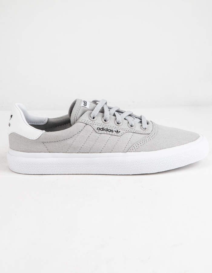 adidas 3MC Light Solid Gray & White Boys Shoes | Best