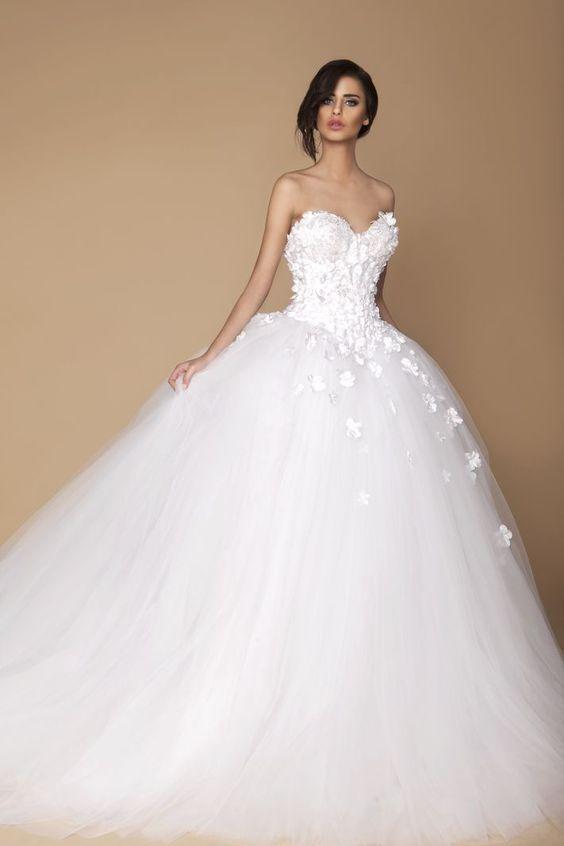 vestidos de novia estilo princesa, colección en vestidos de novia