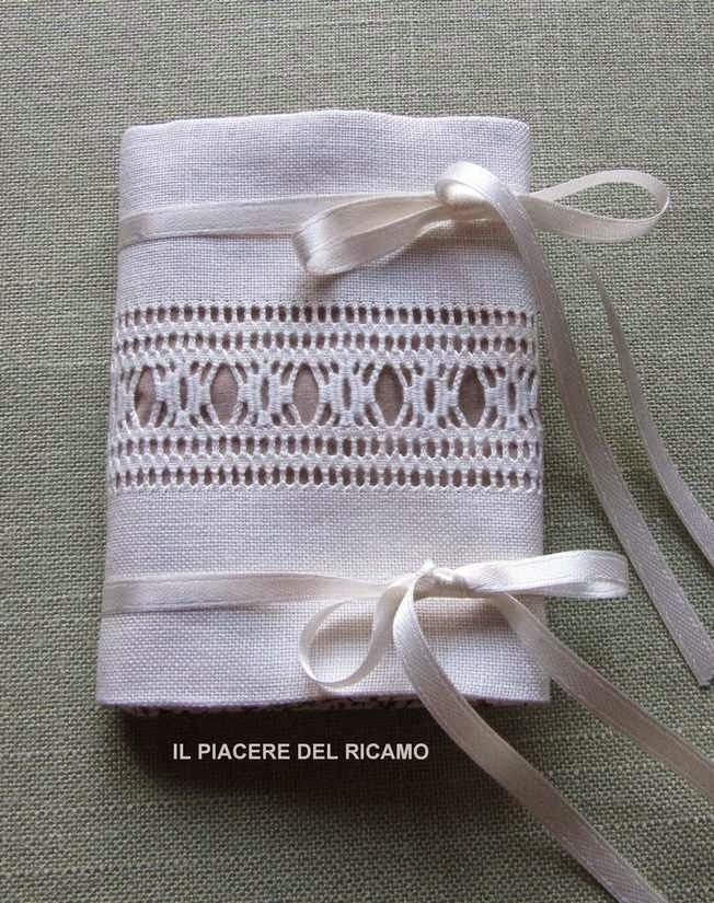 Drawn Thread Needlecase ~ tutorial by Silvana of Il Piacere del ricamo