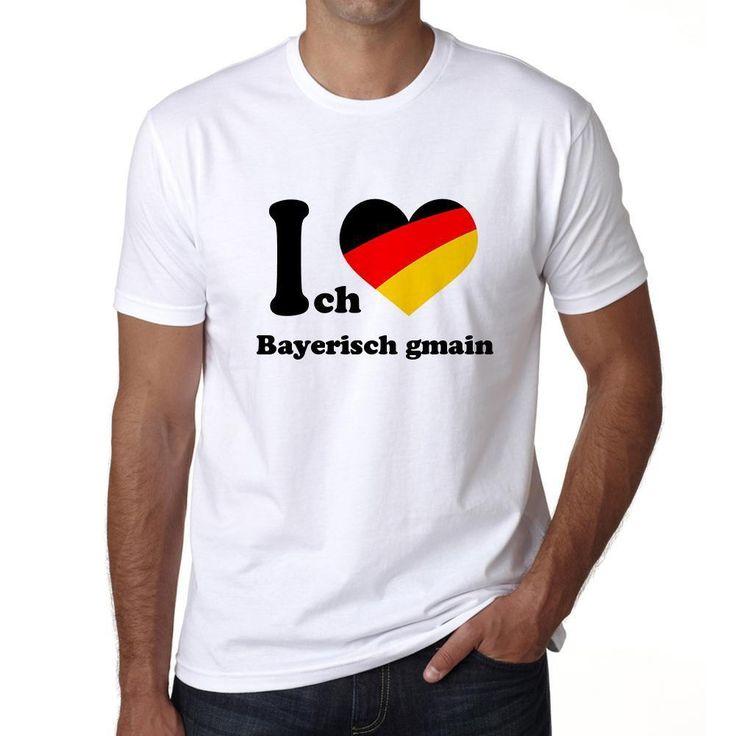 Bayerisch gmain, Men's Short Sleeve Rounded Neck T-shirt