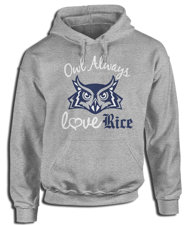 Rice University Official Apparel - this licensed gear is the perfect clothing for fans. Makes a fun gift!