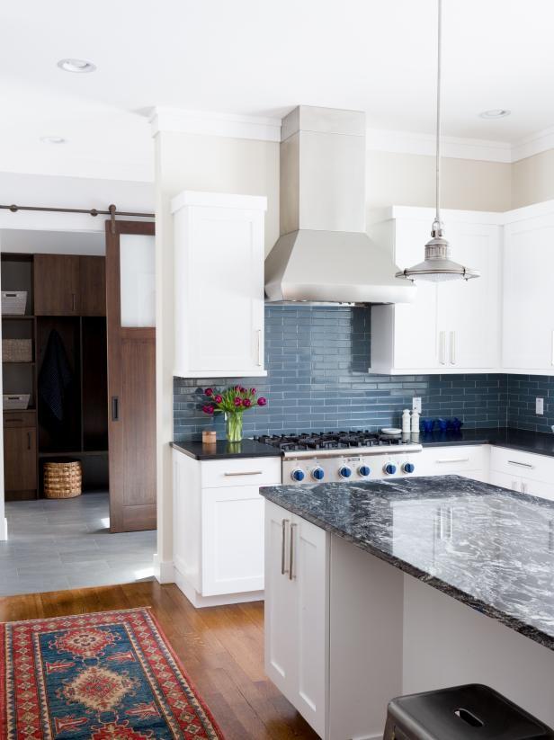 Search Viewer Hgtv Kitchen Backsplash Designs Blue Tile Backsplash Kitchen Eclectic Kitchen