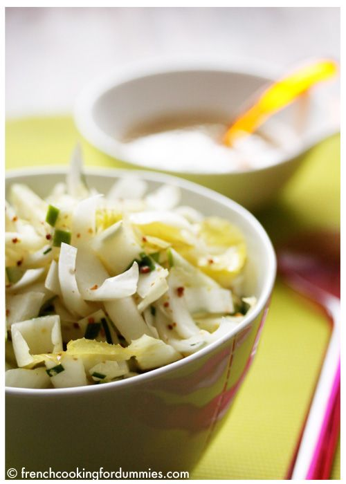 Green apple and Belgian endive salad - French Cooking for Dummies