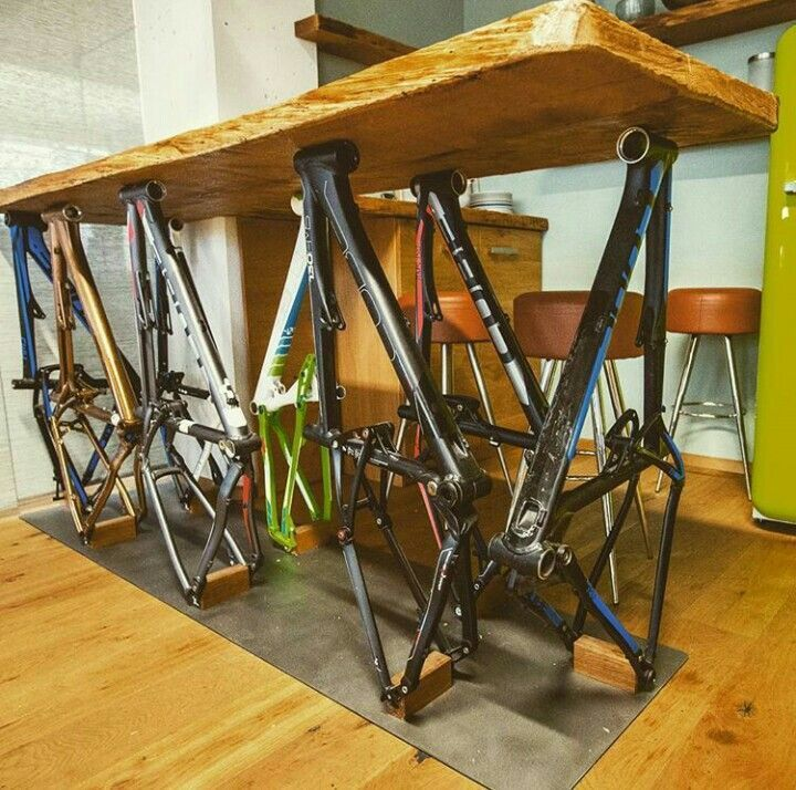 Bicycle Decor, Recycled Bike Furniture