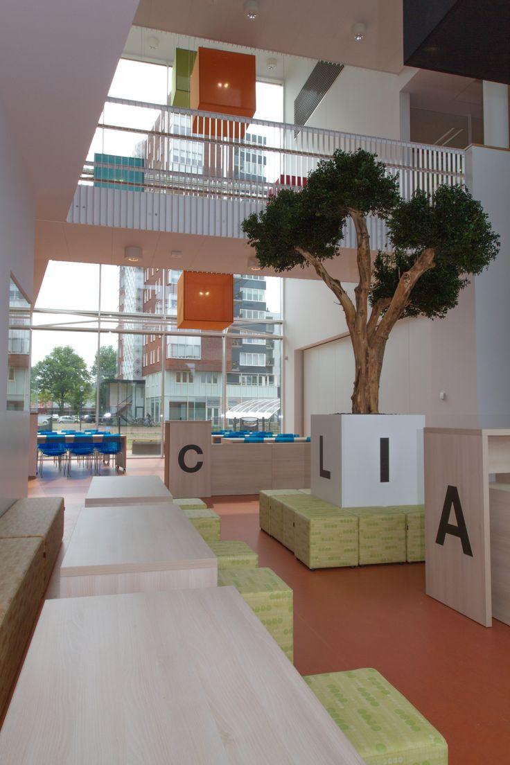Project gebouw Plein Oost te Haarlem door Thereca