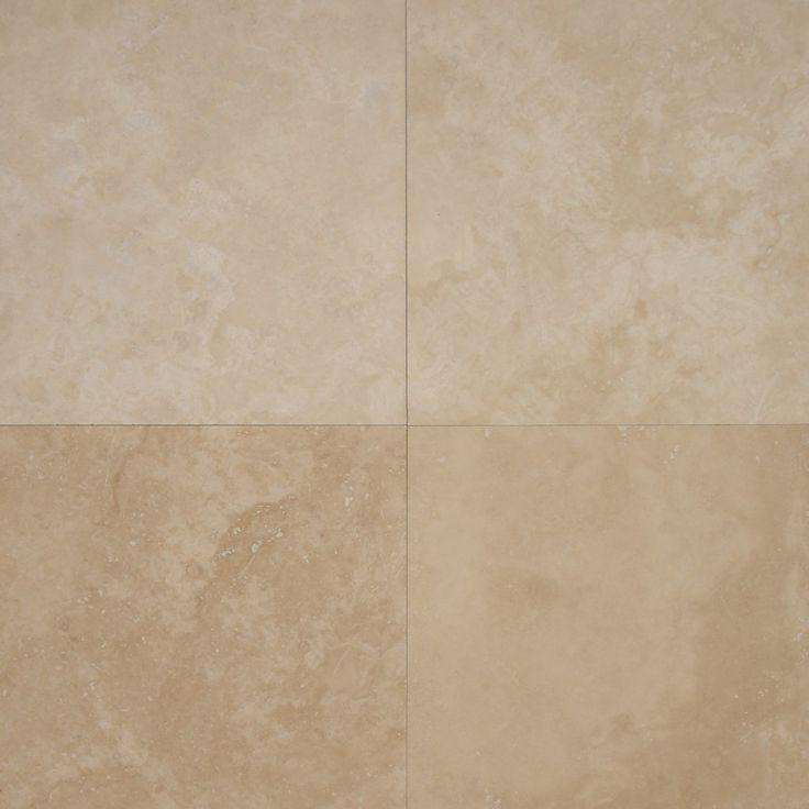 Light travertine honed & filled tiles #travertine #naturalstone #tiles