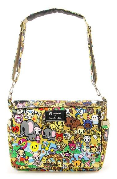 http://www.childrentoystores.com/category/ju-ju-be-diaper-bag/ tokidoki x Ju-Ju-Be 'Better Be' Diaper Bag