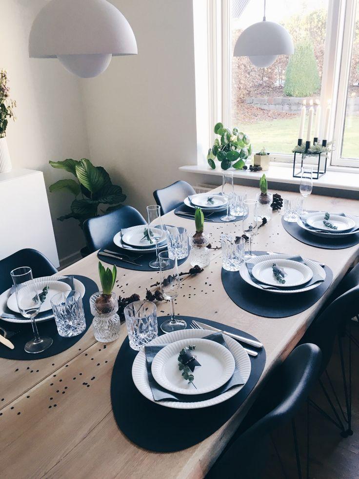 ideer og inspiration til nytårsbordet - borddækning