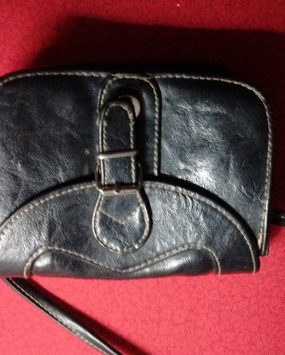 petit sac en cuir noir - 50 %