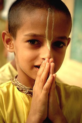 young krishna devotee