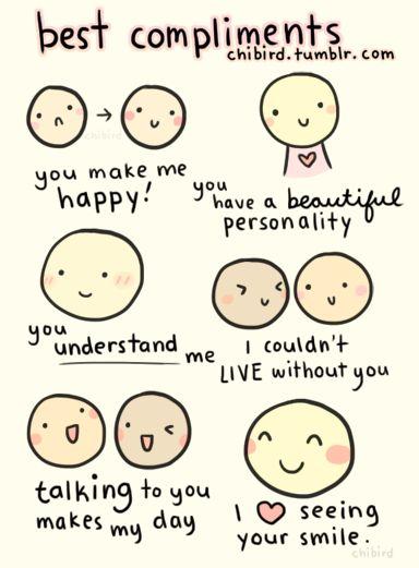 Truely the most heartfelt (when genuine.) <3