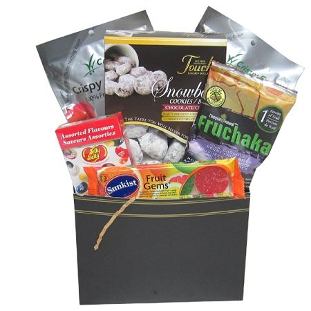 81 best toronto gift baskets by gifts for every reason images on nut free gift baskets using our classic black gift basket box by gifts for every reason negle Images