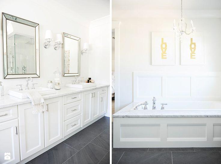 Łazienka styl Glamour - zdjęcie od Casa Bianca - Łazienka - Styl Glamour - Casa Bianca