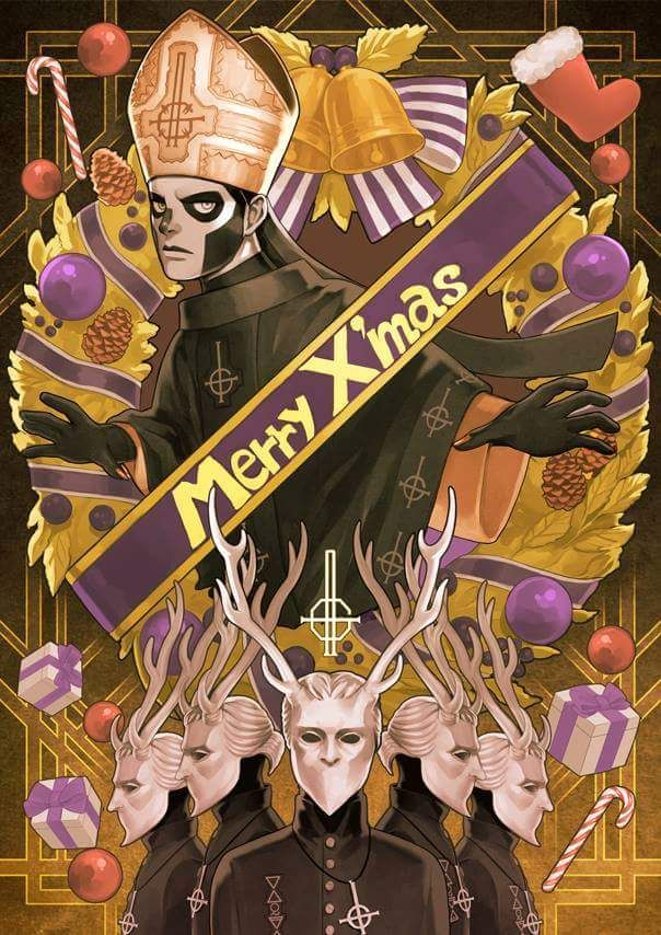 Title: Merry X'mas Artist: Yukke Location: Japan The Nameless Ghouls Official Ghost Cult.