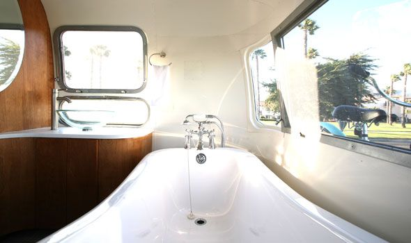can I please have a claw foot tub in my airstream?