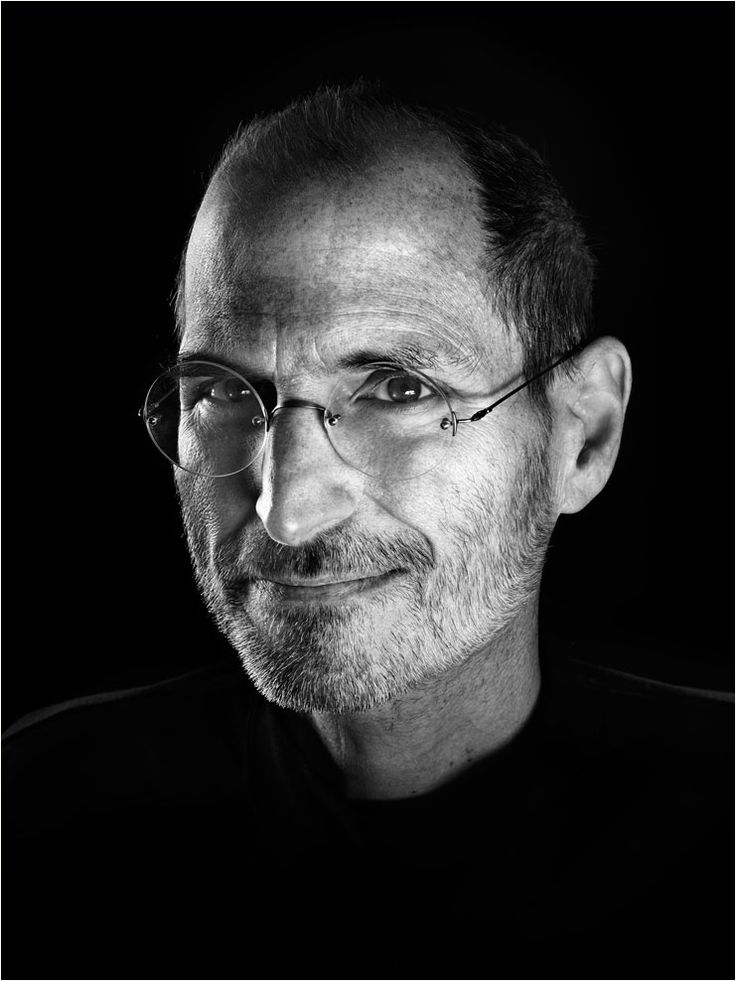 Steve Jobs (1955-2011) - American entrepreneur, marketer, and inventor, who was the co-founder (along with Steve Wozniak and Ronald Wayne), chairman, and CEO of Apple Inc. Photo by Marco Grob