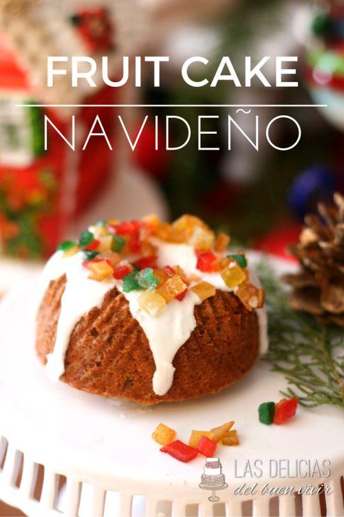 ¡Tu mesa estará deslumbrante en esta navidad! Dale clic a la foto y haz tu misma esta deliciosa receta de un fruit cake navideño.