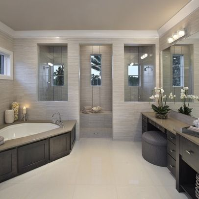 Great Large Bathroom Design 1 · Contemporary Home Design Ideas, Pictures, Remodel  And Decor Color Part 9
