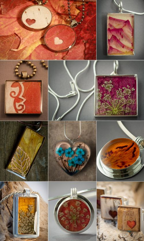 Resin Jewelry DIY book. From thebluebrick.ca