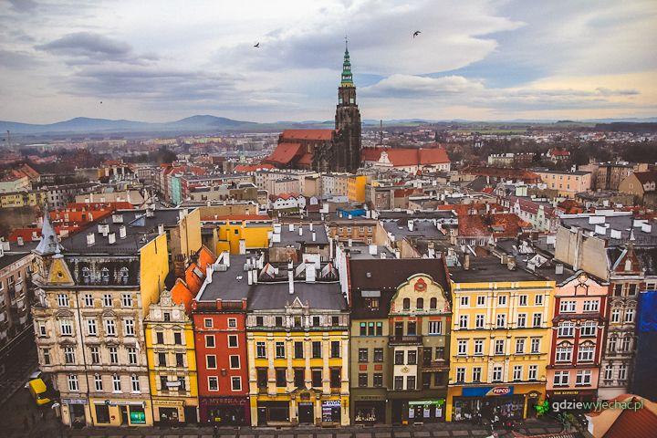 Świdnica, stare miasto