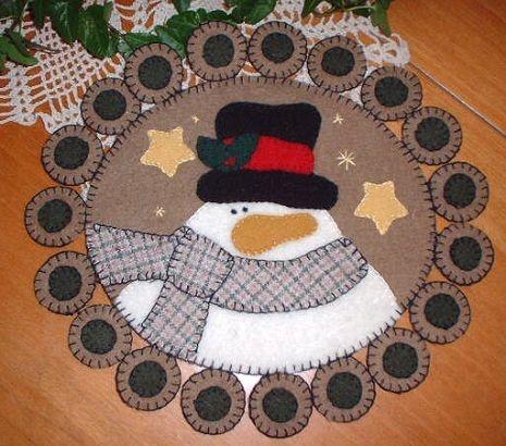 tapete navideño