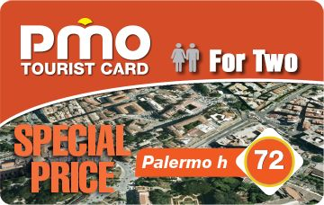 PMO Card 72 For Two | Palermo Tourist Card for 24, 48 or 72 hours