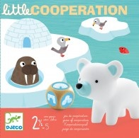 This Little Cooperation game by Djeco offers a very cute way of teaching young children to work together. They need to cooperate to get these ice-dwelling animals to safety!