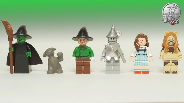 wizard of oz legos?!! ...only if they get enough supporters! these are so cute.