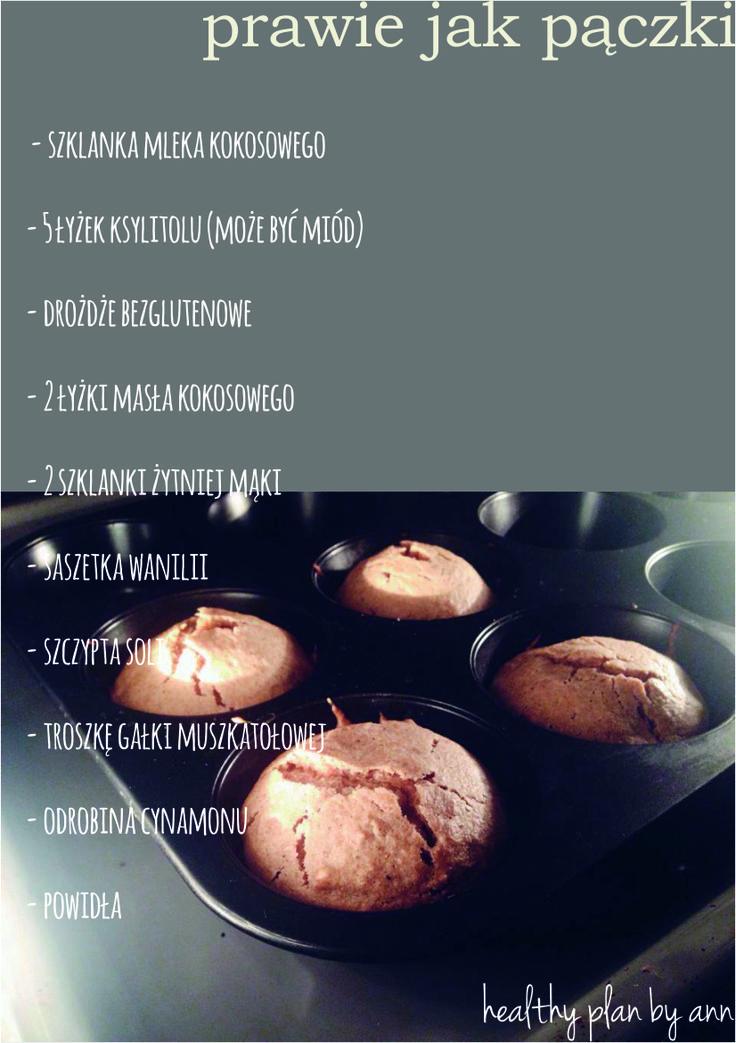 Na nadchodzący tłusty czwartek miałam w planach różne bezglutenowe eksperymenty. Niestety, inne obowiązki nie pozwalają mi na szaleństwa w kuchni stąd dziś powtórka szaleństw ubiegłorocznych – bułeczki, które doskonale zastąpiły nam tradycyjne karnawałowe słodkości smażone zwykle w głębokim tłuszczu. Składniki: - 1 szklanka mleka kokosowego - 5 łyżek ksylitolu (może być miód) - drożdże bezglutenowe…