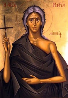 Mary of Egypt.  Fifth Sunday in Lent